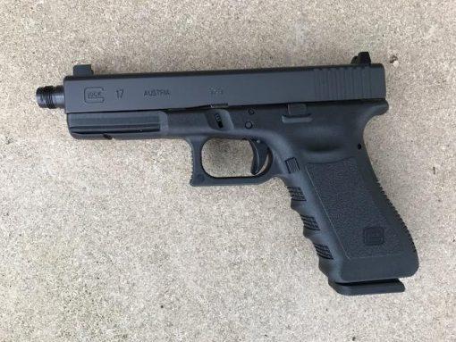 Glock 17 Gen 5 threaded barrel